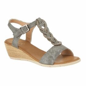 Lotus Shoes Orta Open-Toe Wedge Sandals
