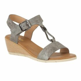Lotus Shoes Ginny Open-Toe Wedge Sandals