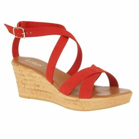Lotus Shoes Nora Open-Toe Wedge Sandals