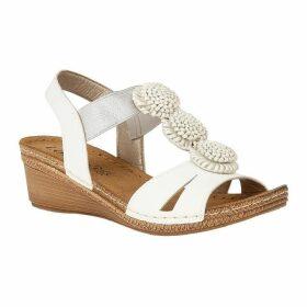 Lotus Shoes Saphira Open-Toe Wedge Sandals