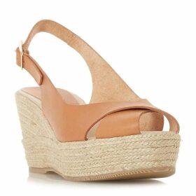 Dune Black Kyri Wedge Sandal Shoes