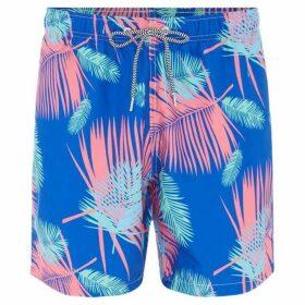 Boardies Tropicano Print Mid Length Swim Short