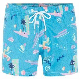 Boardies Yoko Honda Surf Print Shortie Length Swim Short