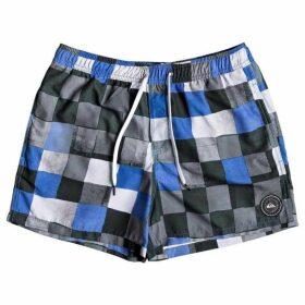 Quiksilver Resin Check 15 - Swim Shorts For Men
