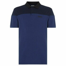 Barbour International Short Sleeved Curve Polo