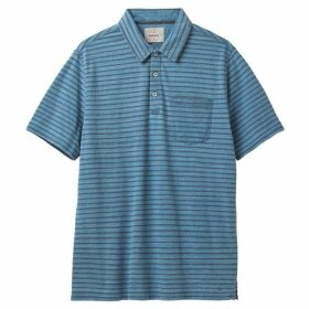 White Stuff Glendale Indigo Stripe Polo