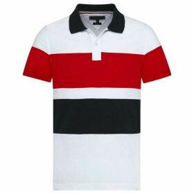 Tommy Hilfiger Cut & Sew Slim Polo Top