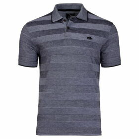 Raging Bull Stripe Oxford Polo