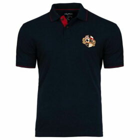 Raging Bull Big And Tall Crest Pique Polo