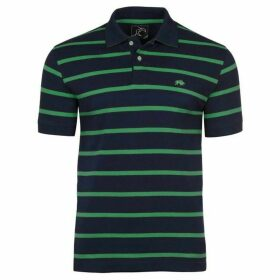Raging Bull Big and Tall Breton Stripe Polo