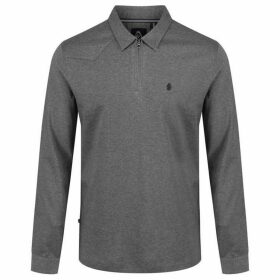 Luke Long Zippy Long Sleeve Dressy Polo