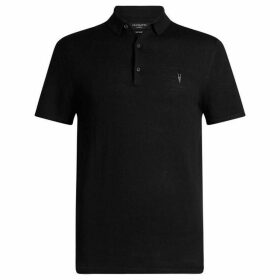 All Saints Mode Merino Short Sleeve Polo