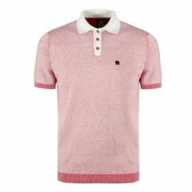 Luke Plutonium Knitted Polo