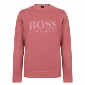 Boss Relaxed Fit Woven Sweatshirt