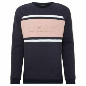 Dead Legacy Embossed Colourblock Sweatshirt
