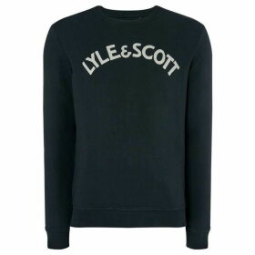 Lyle and Scott Logo Crew Neck Sweatshirt