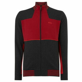 Boss Skaz Colour Block Zip-Up Sweatshirt