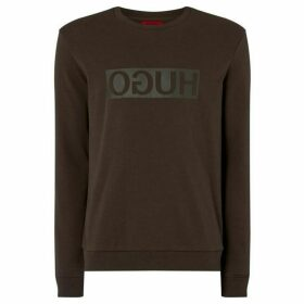 Hugo Dicargo U2 Reverse Logo Camo Sweatshirt