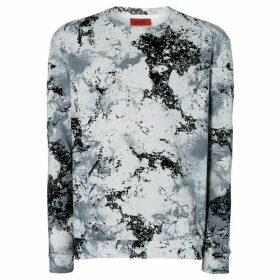 Hugo Dnowcam Marble Print Sweatshirt