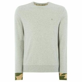 Penguin Camo Detail Sweatshirt