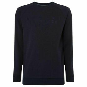 Armani Exchange Raglan Sleeve Logo Sweatshirt