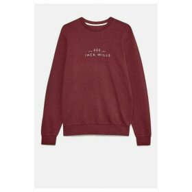 Jack Wills Cruxton Graphic Sweatshirt