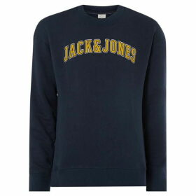 Jack and Jones Harvey Arch Graphic Sweatshirt