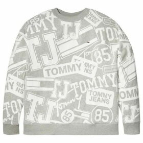 Tommy Hilfiger Tommy Jeans Logo Print Sweatshirt