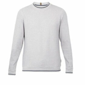 Ted Baker Thersty Textured Cotton Sweatshirt
