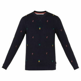 Ted Baker Troptop Embroidered Sweatshirt