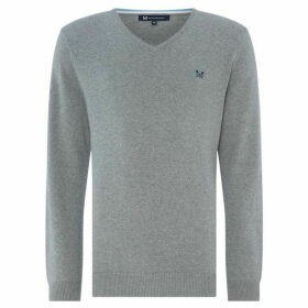 Crew Clothing Company Foxley V-Neck Sweatshirt