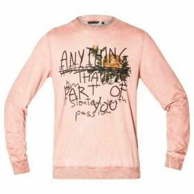 Antony Morato Embroidery & Print Sweatshirt