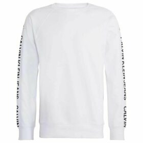 Calvin Klein Jeans Side Logo Cotton Sweatshirt