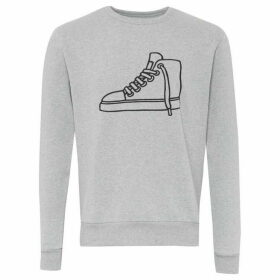 French Connection Sneaker Embroidered Sweatshirt