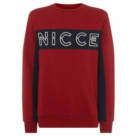 Nicce Colt Chest Logo Sweatshirt