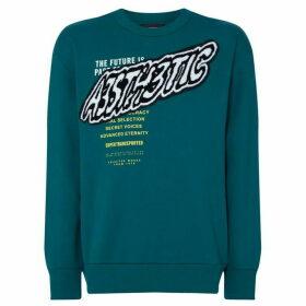 Diesel Patchwork Logo Sweatshirt