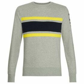 Tommy Hilfiger Stripe Logo Sweatshirt