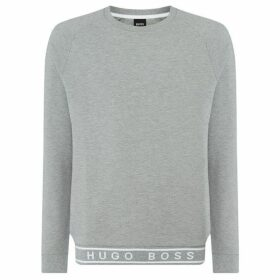 Boss Contemporary ribb tape logo sweatshirt