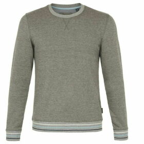 Ted Baker Long-Sleeved Jersey Sweatshirt
