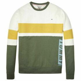 Tommy Jeans Boxy Block Sweatshirt