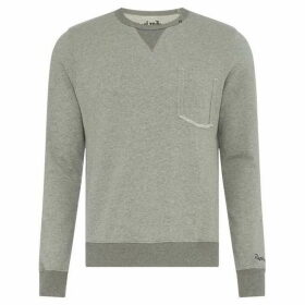 Replay Ribbed Cotton Sweatshirt