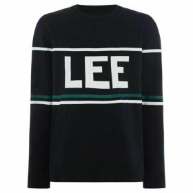 Lee 90`S Logo Crew Neck Sweatshirt