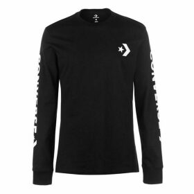 Converse SC Long Sleeve Word T Shirt