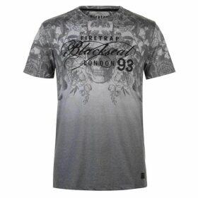 Firetrap Blackseal Cascade T Shirt