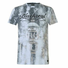 Firetrap Blackseal City T Shirt