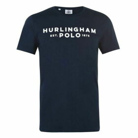 Hurlingham Polo 1875 Logo T Shirt