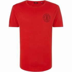 Only and Sons Bobby Longy Logo Badge T-Shirt