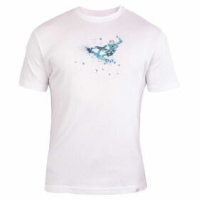 Double Two Short Sleeve Surfer Print T-Shirt
