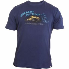 Double Two Short Sleeve Car Graphic Print T-Shirt