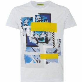 Versace Jeans Geometric Tiger T-Shirt